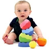 Пирамидка сферы развивающая, формочки, вкладыши