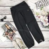 Фирменные спортивные брюки с мягким поясом и свободными штанинами  PN4019