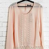 Очень нежная и красивая блуза от Vila, пастельно - розового цвета.  Размер L. Состояние отличное, бе