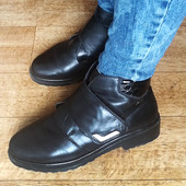 Ботинки полусапожки кожа зима зимние rieker tex 37 размер