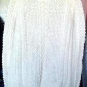 Теплый большой мужской свитер реглан для дома