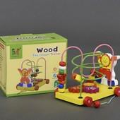Каталка-лабиринт «Цирк», Wooden Toys (555-256)