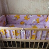 Бортики (защита) в кроватку