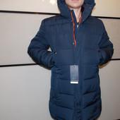 Зимняя мужская куртка синяя 50р.
