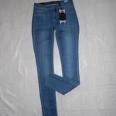2XS-XS, поб 42-44, узкие! джинсы супер скинни Cars Jeans, полностью по ноге, новые