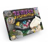 Набор для проведения раскопок драгоценные камни JEX-01-02