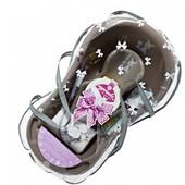Набор для новорожденного Maltex Зебра бежевый (23-045)