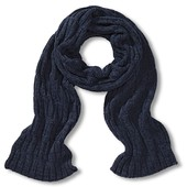 Тёплый вязаный мужской шарф от TCM Tchibo, Германия