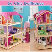 Кукольный домик для Барби KidKraft 65078