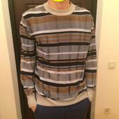Мужской  пуловер размер М хлопок и акрил