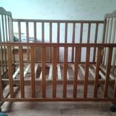Детская кроватка Верес с ящиком