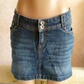 Юбка джинсовая прямая. разм. 40, 10 XS,  Denim
