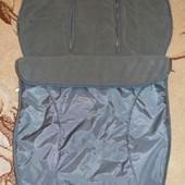 Спальный мешок, конверт, чехол на ножки в коляску Mothercare.Англия.
