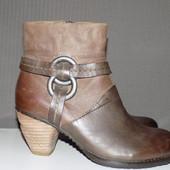 Кожа.фирма.качество. Стильные ботинки Citigate 36 р- Новые