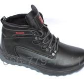 Зимние ботинки мужские, натуральная кожа, N43