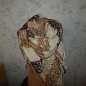 Dorothy Perkins шарф вязаный стильный модный тёплый