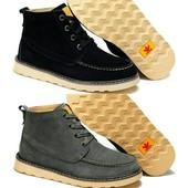 Ботинки Adidas Ransom Original Boot, натур. замша на меху, р 41-44, код fr-2848