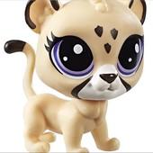 Ягуар Пет шоп от Hasbro Jane Jagmore jaguar Littlest pet shop тигр лев ягуар