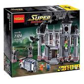 конструктор decool серия super heroes 7124 побег из клиники аркхэм (аналог lego super heroes 10937)