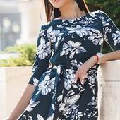 Размеры 42-54 Стильное яркое женское платье  4374420  8511995