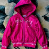Курточка ветровка Napoleone (Наполеоне), р. 4A, розовая, в идеальном состоянии