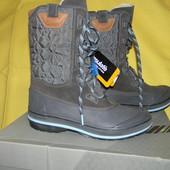 Новые зимние сапоги (ботинки) Clarks 38р.