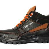 Мужские спортивные ботинки на зиму с мехом (СБ-8чр)