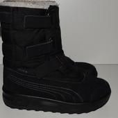 зимние ботинки 33р Puma,мембрана Gore-Tex