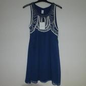 Красивое женское  платье-туника  датского бренда Vila , L  Сток из Европы