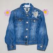 Джинсовая куртка 3-4 года Zara