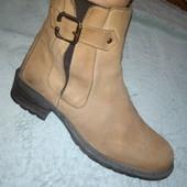ботинки в стиле челси нубук