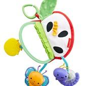 Fisher-Price развивающая игрушка Яблочко с зеркальцем sensory activity apple DFP88