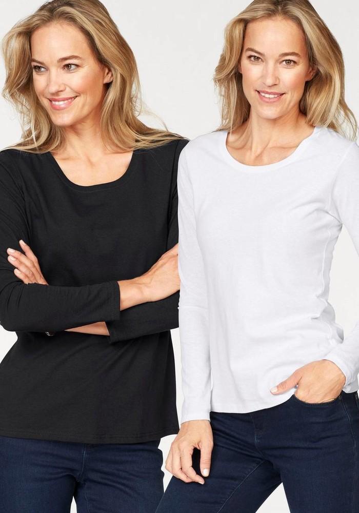Женская футболка с длинным рукавом фото №1