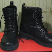 Ботинки на тракторной подошве 37-38р