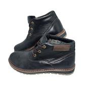 Ботинки зимние на меху New Style Space Black