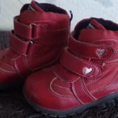 Зимние ботинки. Натуральная кожа