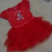 Красивенное, пышное платьице Disney Minnie на девочку 3-4 годика