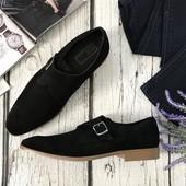 Мужские туфли-монки Asos из натуральной замши  SH41107