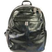 Модный рюкзак женский чёрного цвета