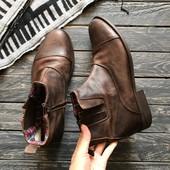 Кожаные ботинки Sole p-p 43