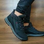 Ботинки Columbia, подросток, натур. кожа на меху, р 35-39, код gavk-10449