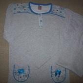 теплая женская пижама с начесом р-р 36-42 Турция