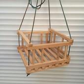 Качеля деревянная 001