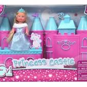 Набор кукла Эви с замком Evi love princess castle playset