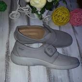 Hotter туфли мокасины р 9 , 41 Кожа Англия