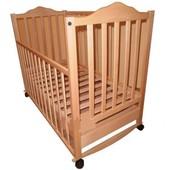 Детская кроватка из бука Sonno KR-300 с ящиком
