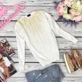 Женственный свитшот-оверсайз Top Shop с блестящим декором  SH42118