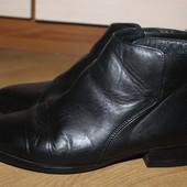Кожаные ботинкы , черевички , ботінки office