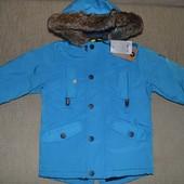 Нова куртка парка NEXT розм. 3-4 р./104 см.  в наявності