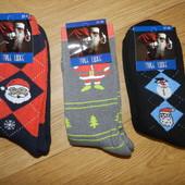 Новогодние мужские носки